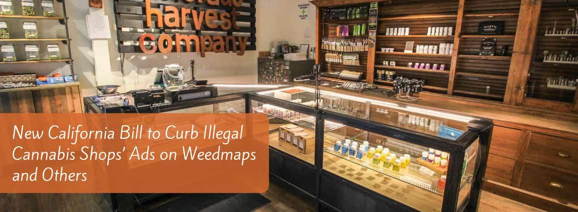 California Bill to Curb Illegal Cannabis Shops