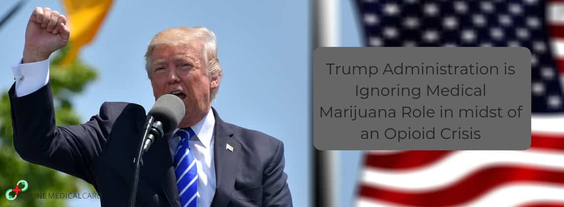 Trump Administration is Ignoring Medical Marijuana Role in midst of an Opioid Crisis