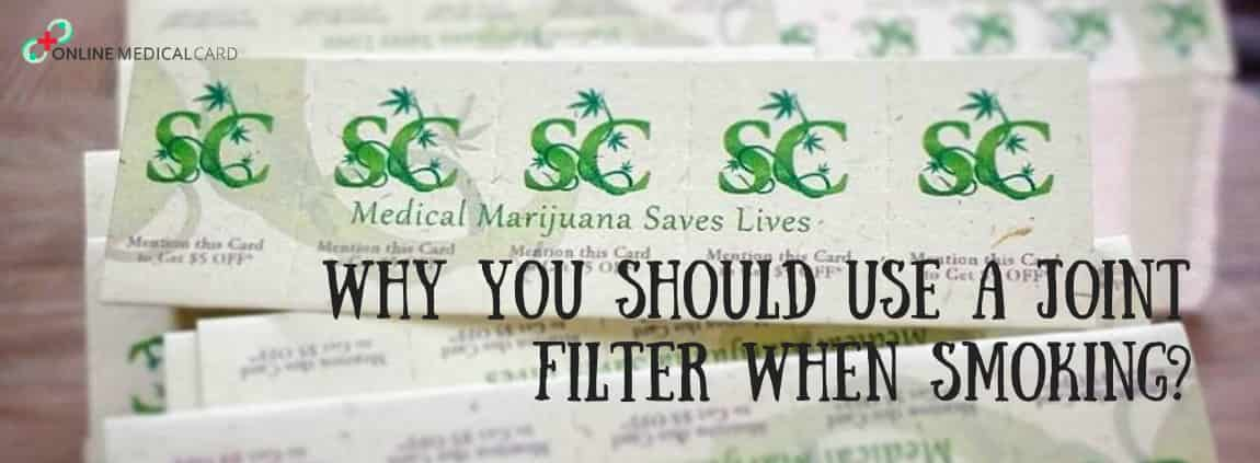 Why You Should Use A Joint Filter When Smoking