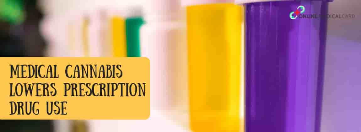 Medical Cannabis Lowers Prescription Drug Use