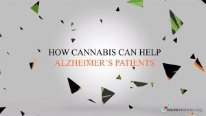 cannabis for Alzheimer's patients